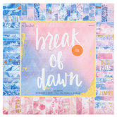"Break Of Dawn Foil Paper Pack - 12"" x 12"""